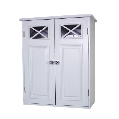 Dawson Wall Cabinet White - Elegant Home Fashions - image 1 of 4
