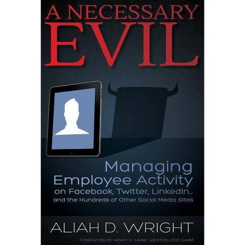 A Necessary Evil - by  Aliah D Wright (Paperback) - image 1 of 1
