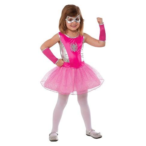Marvel Spider Girl Girls Costume Pink Target