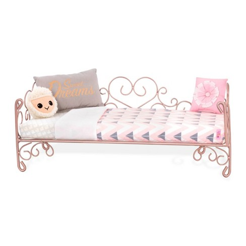 Our Generation Scrollwork Bed - Sweet Dreams - image 1 of 3