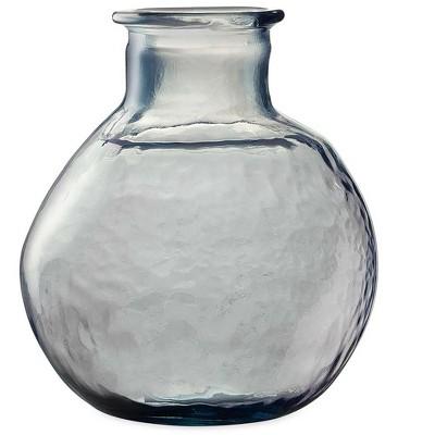 "VivaTerra Oval Recycled Glass Balloon Vase, 12"""