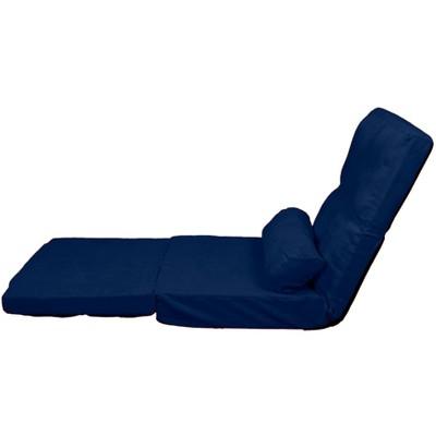 Metro Click Clack Convertible Flip Chair Child Size Sleeper Bed   Dark Blue    Sit N Sleep : Target