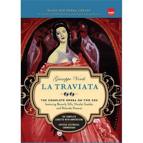 La Traviata (Book and CD's) - (Black Dog Opera Library) (Mixed media product) - image 1 of 1