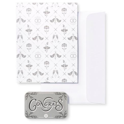 wedding gift card free greeting card target