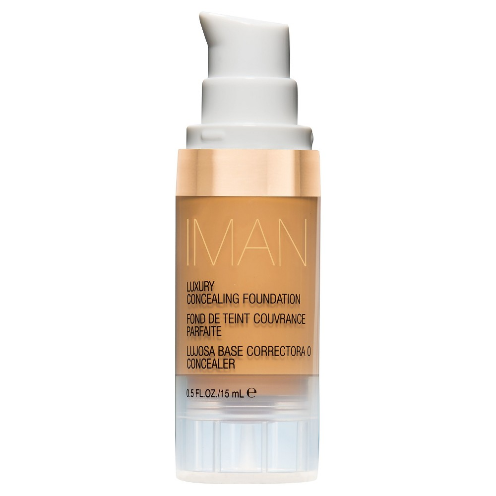 Image of Iman Luxury Concealer Foundation Clay 1 0.5 oz