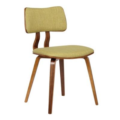 Ceritos Mid-Century Dining Chair Green - Armen Living