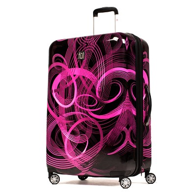 "FUL 20"" Hardside Spinner Suitcase - Atomic Pink"