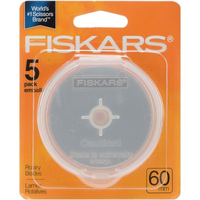 Fiskars Rotary Cutter Blade Refill 60mm 5/Pkg