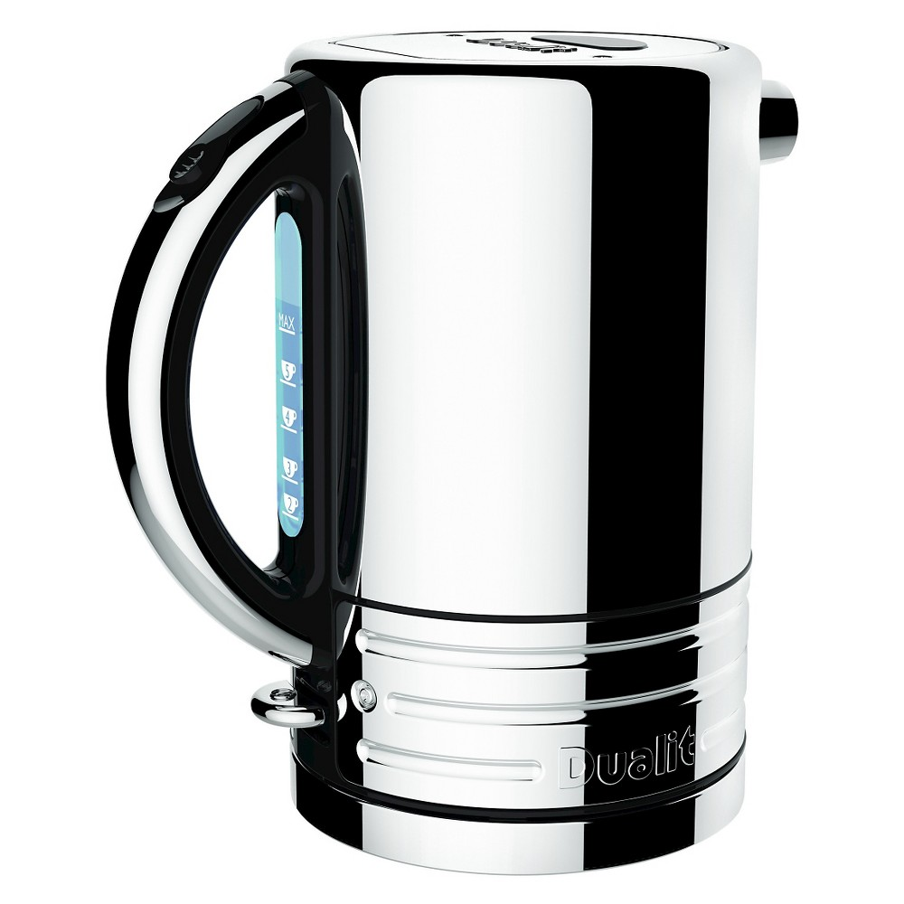 Dualit Design Series Kettle – Chrome, Black/Silver 50630168