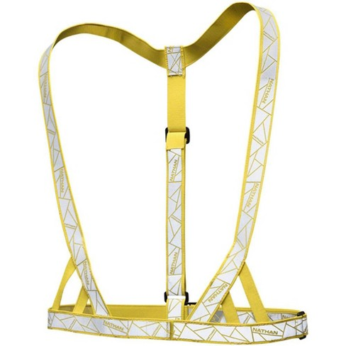 Nathan Reflective Vibe Vest - Yellow, One Size Fits Most - image 1 of 4