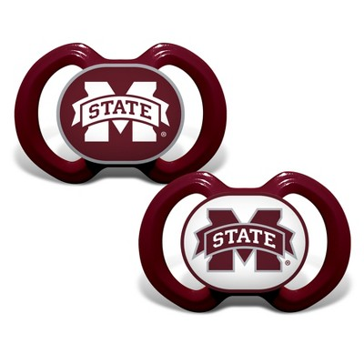 Mississippi State Bulldogs 2pk Pacifier Set