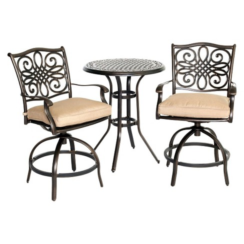 Hanover Traditions 3-Piece High-Dining Bistro Set - image 1 of 8