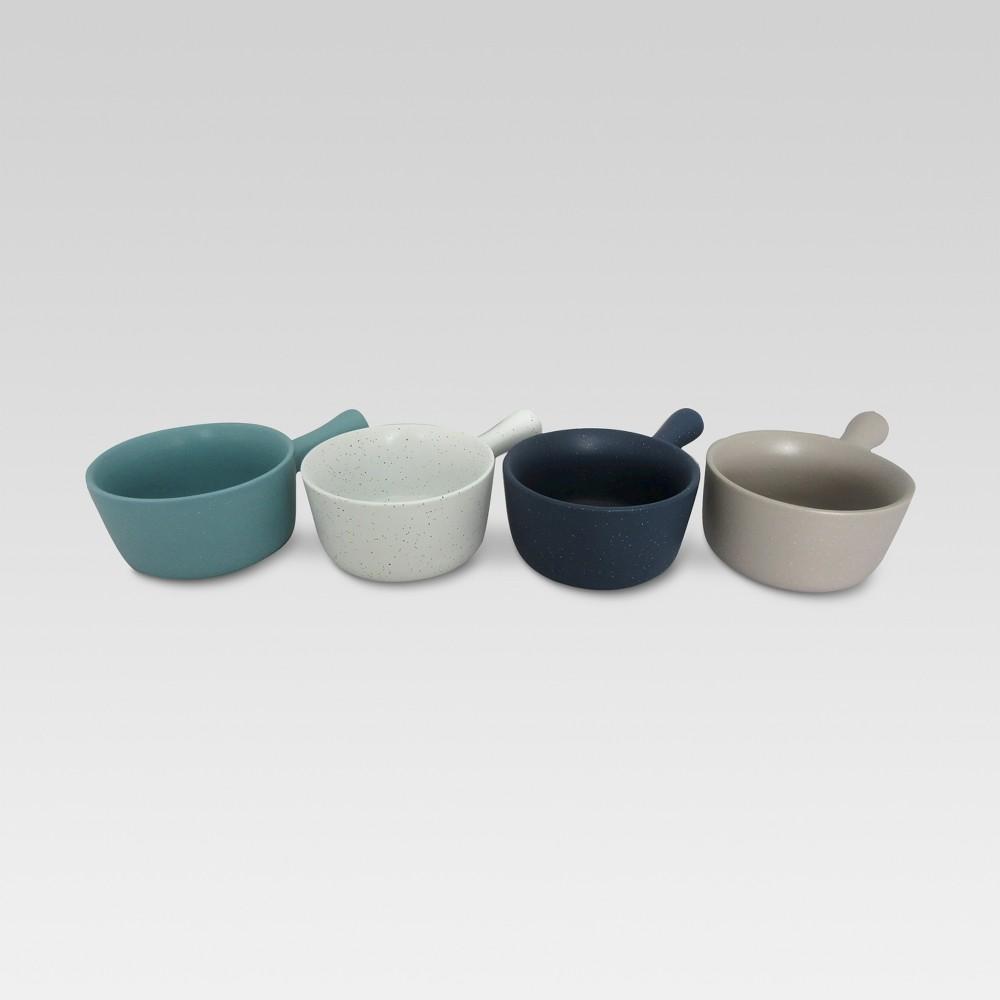 Glazed Stoneware Soup Bowls (18oz) - Set Of 4 - Threshold, Multi-Colored