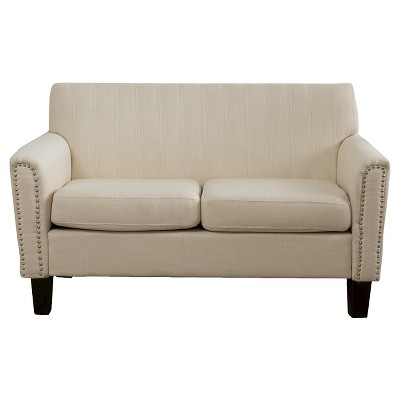 Brookfield Two-Seat Fabric Sofa - Christopher Knight Home