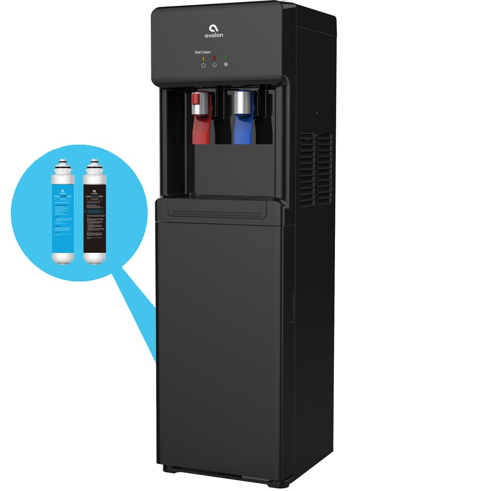 Avalon Self Cleaning Water Cooler and Dispenser – Black 54249517