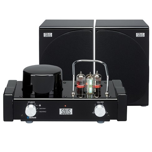 SOLIS Bluetooth Stereo Vacuum Tube Audio System - Black (SO-8000) - image 1 of 5