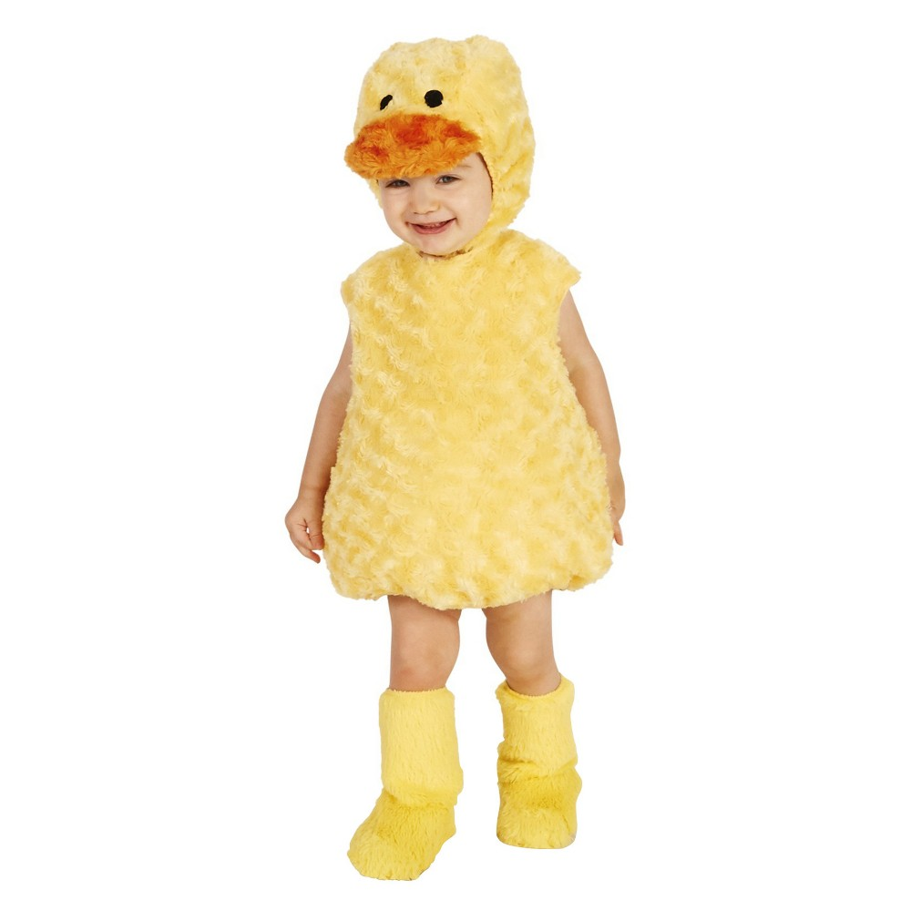 Baby Duckling Costume 18-24M, Infant Unisex, Yellow
