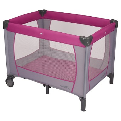 Evenflo® Portable Baby Suite Classic Playard- Purple Orchid