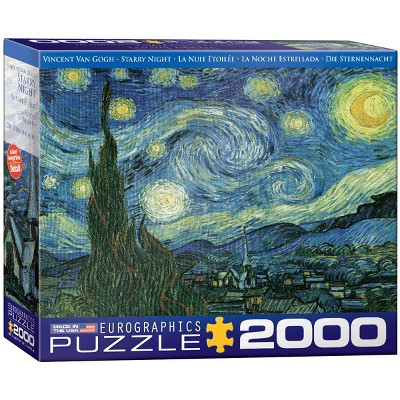 Eurographics Vincent Van Gogh's Starry Night Puzzle 2000pc