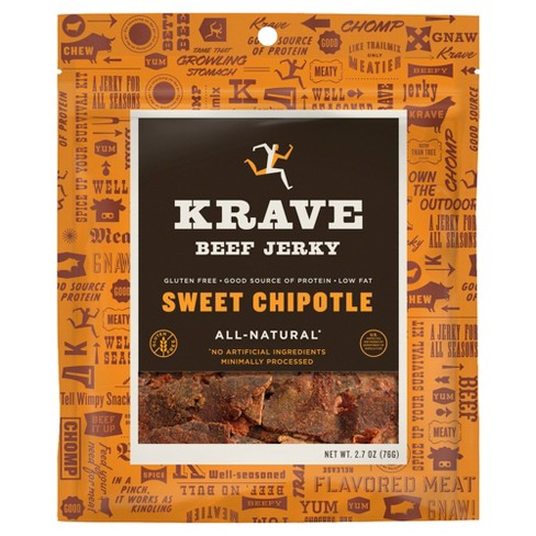 Krave Sweet Chipotle Gourmet Beef Cuts Jerky - 2.7oz - image 1 of 2