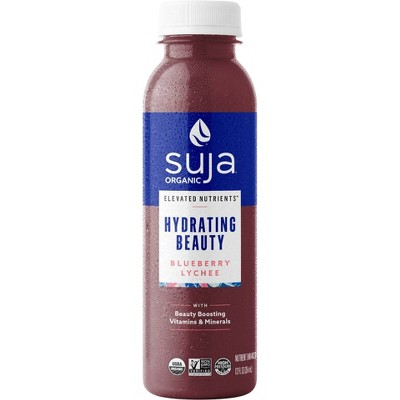Suja Organic Elevated Nutrients Hydrating Beauty Blueberry Lychee - 12 fl oz