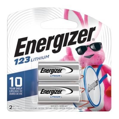 Energizer Photo 123 Batteries 2 ct (EL123APB2)