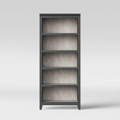 72  Carson 5 Shelf Bookcase Gray - Threshold™