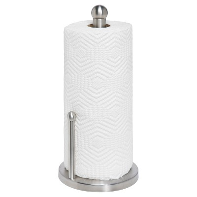 Honey Can Do® Stainless Steel Paper Towel Holder