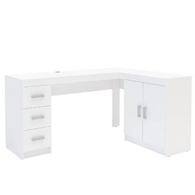Mayne Corner Desk White - Chique