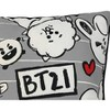 BT21 Line Friends Doodle Throw - image 3 of 4