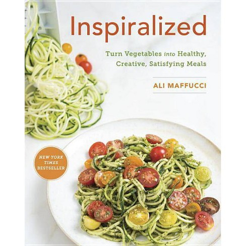 Inspiralized : Turn Vegetables into Healthy, Creative, Satisfying Meals (Paperback) (Ali Maffucci) - image 1 of 1