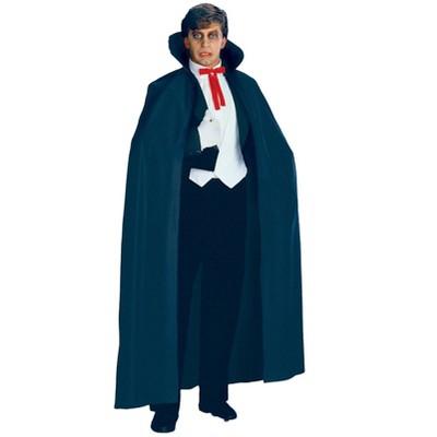 Rubies Full Length Black Fabric Cape Adult Costume