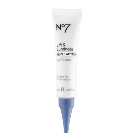 No7 Lift & Luminate Triple Action Eye Cream - 0.5 fl oz - image 1 of 4