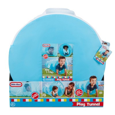 Little Tikes Kids' 6' Indoor & Outdoor Play Tunnel with Mesh Windows