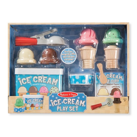 Buy Melissa Doug Scoop Serve Ice Cream Set For Usd 21 24 Toys R Us