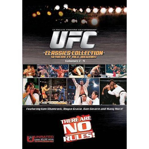 UFC Classics Boxset (DVD) - image 1 of 1