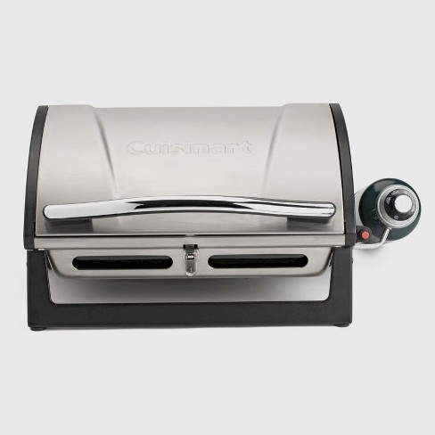 Cuisinart® Grillster Portable Gas Grill Model CGG-059 - Silver - image 1 of 7