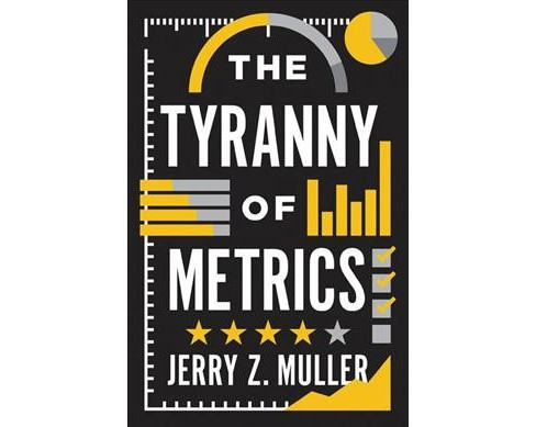Tyranny of Metrics -  by Jerry Z. Muller (Hardcover) - image 1 of 1