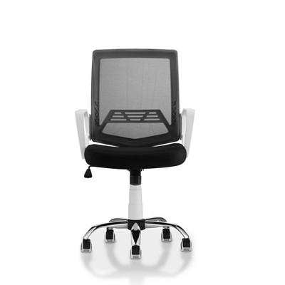 Gary Cushioned Mesh Office Chair White - miBasics