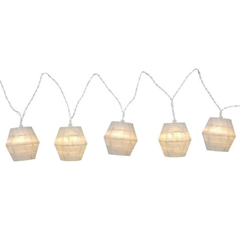 LED Paper Mint Swirl String Lights White - Room Essentials™ - image 1 of 1