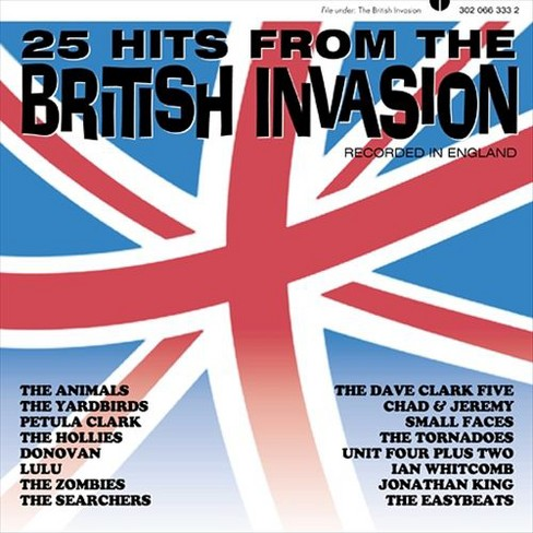 Various - 25 hits from the british invasion (CD) - image 1 of 1