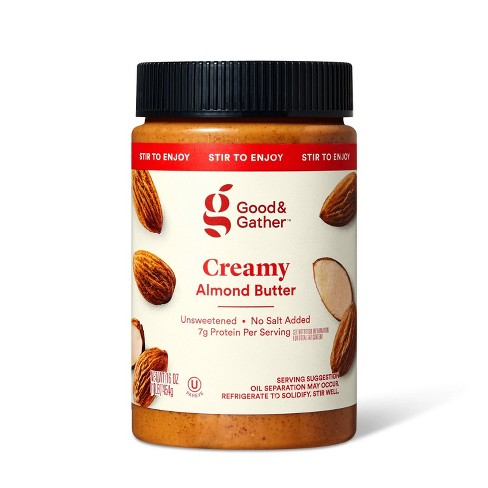 Stir Creamy Almond Butter 16oz - Good & Gather™ - image 1 of 3