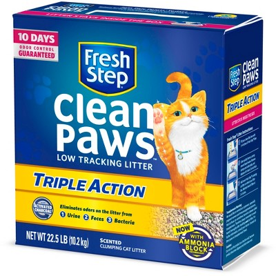 Cat Litter: Fresh Step Clean Paws Triple Action