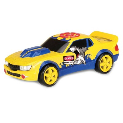 Kid Galaxy Road Rockers Motorized Shark Surprise Car with Sound