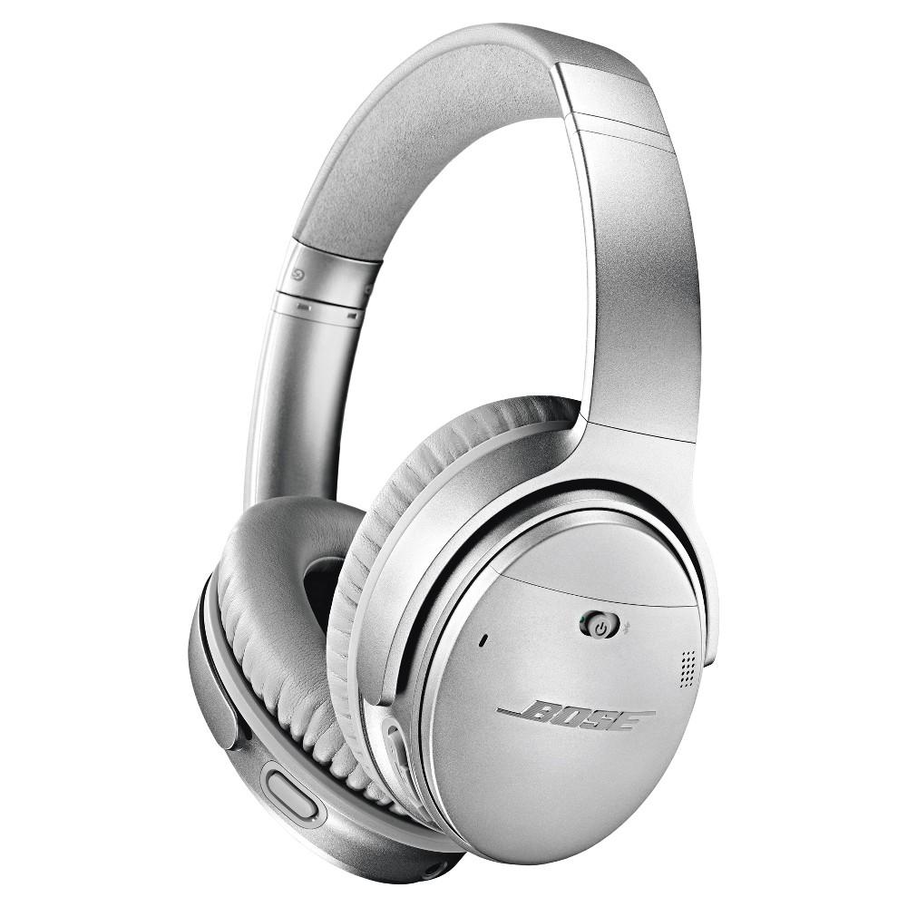 Bose QuietComfort 35 Wireless Headphones II (Android/iOS) - Silver