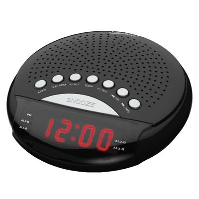Supersonic Dual Alarm Clock Radio