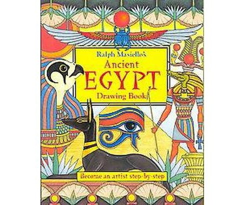 Ralph Masiello's Ancient Egypt Drawing Book (Paperback) - image 1 of 1