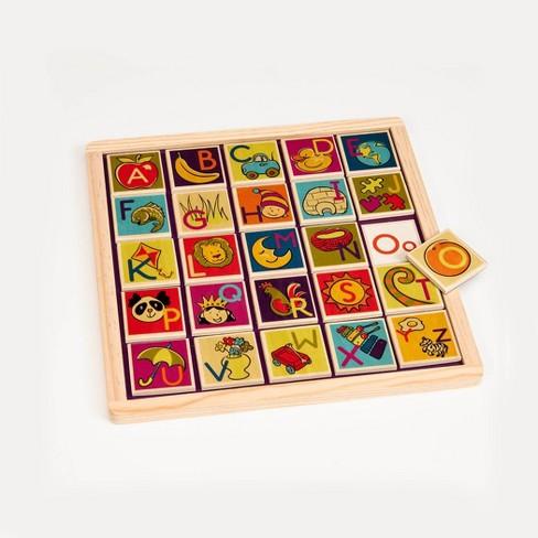 B. toys Magnetic 26pc Alphabet Puzzle - image 1 of 3