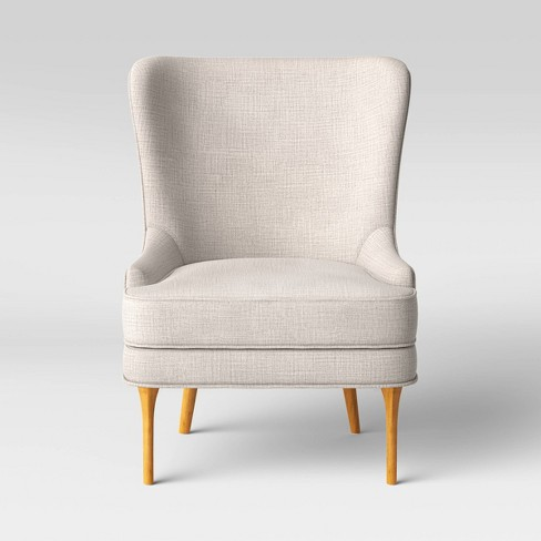 Cheswold Wingback Chair Beige Threshold Target