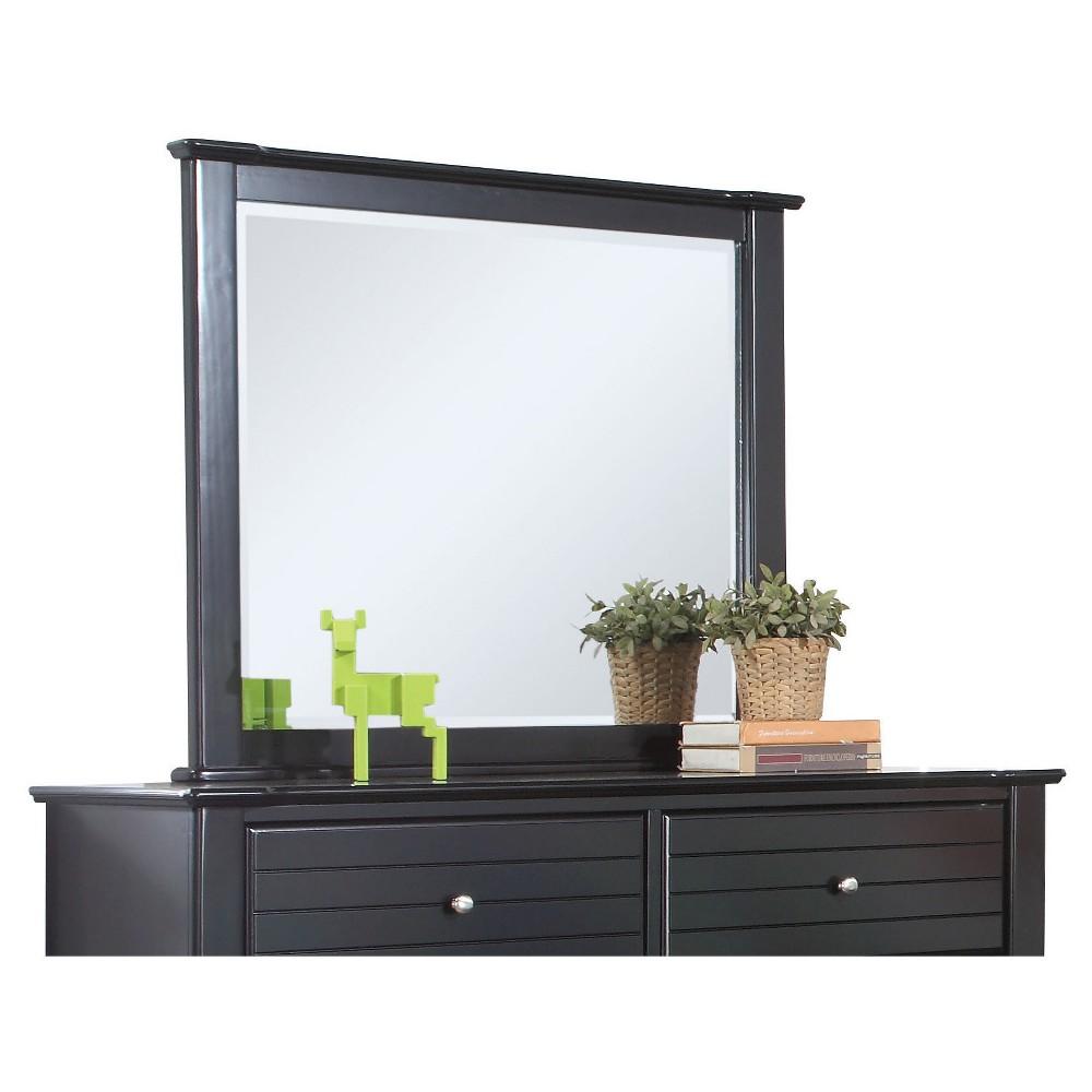 Image of Mallowsea Kids Dresser Mirror - Black - Acme